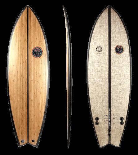 WAU Surfboards Cozy Fish (Thumbnail)